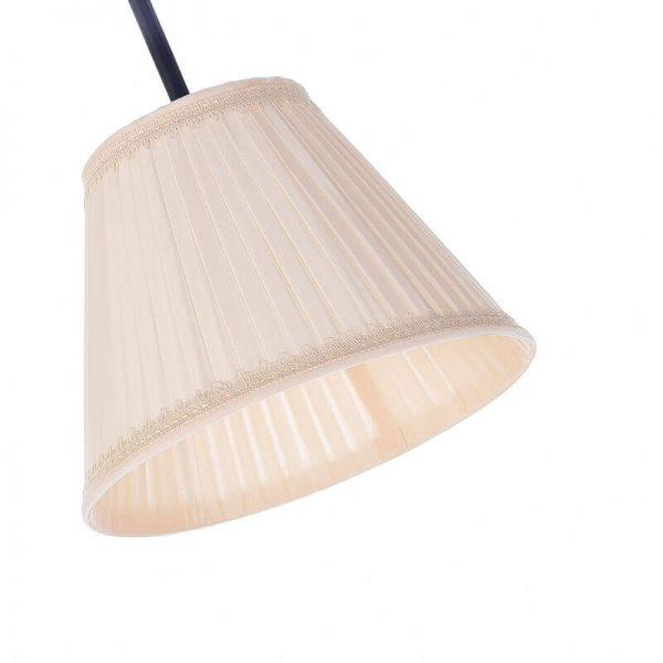 geplooide lampenkap voor leeslamp